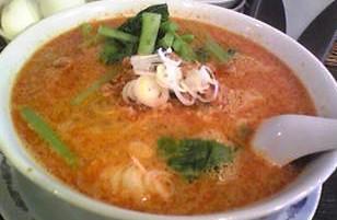 花の華坦々麺