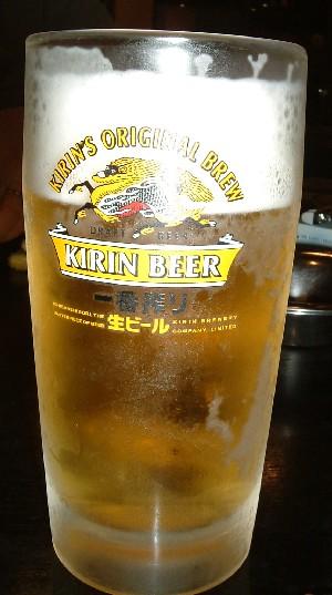 味楽:生ビール