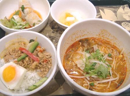 南国泰飯ランチ